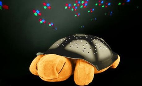 """Музикална лампа """"Костенурка"""" с 4 мелодии и сменящи се цветове"""