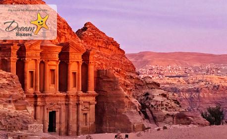 Екскурзия до Йордания! 7 нощувки със закуски и вечери, плюс самолетен транспорт от Варна