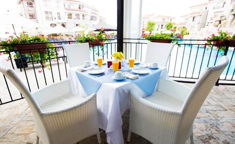 24 Май в Ахелой! 2 или 3 нощувки със закуски и вечери, едната празнична, плюс релакс зона