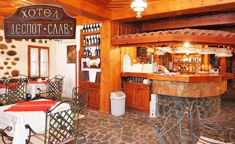 Почивка в Мелник през Ноември и Декември! 2 нощувки със закуски и вечери, плюс комплимент - дегустация на вино