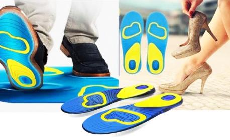 Чифт ежедневни стелки за обувки с технология Gel Activ - дамски или мъжки