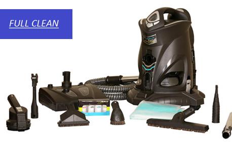 Изтупване и пране с почистваща система Robot Platinum на до 6 седящи места холова гарнитура