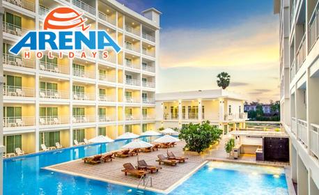 Февруари в Тайланд! 7 нощувки със закуски в хотел 4* на о-в Пукет, плюс самолетен транспорт и възможност за Банкок
