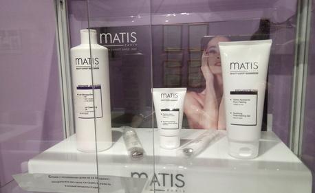 Изглаждащ пилинг на лице Matis с незабавен ефект, плюс терапия за околоочен контур