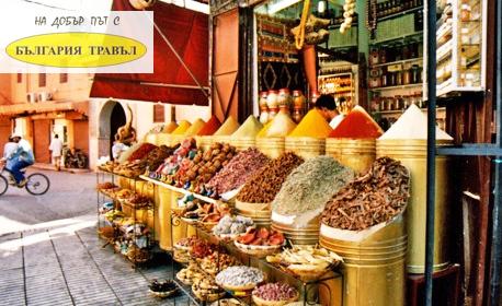 Посети Мароко през Май, Септември или Октомври! 6 нощувки със закуски и вечери, плюс самолетен транспорт