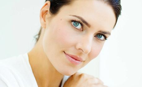 Дълбоко почистваща терапия за лице, плюс криотерапия за затваряне на порите