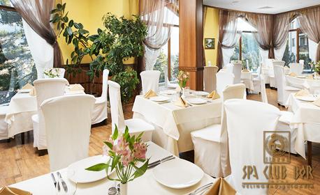 Балнео релакс във Велинград! Нощувка със закуска и вечеря, плюс 3 процедури и уелнес зона