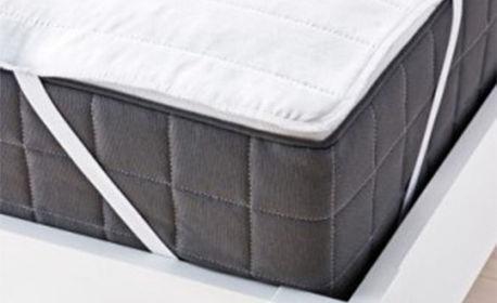 Възглавница или протектор за единичен матрак