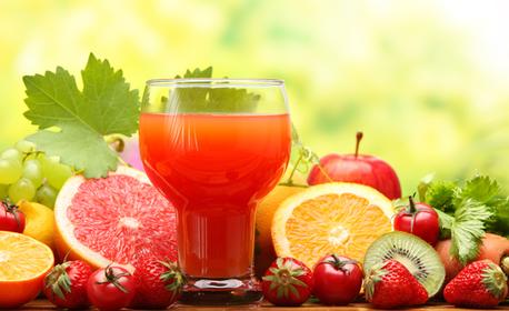 Половин литър фреш Мултивитамин с портокал, грейпфрут и лимон