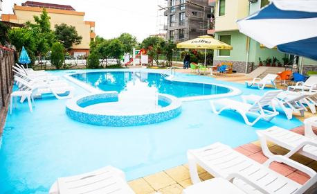 Цяло лято в Равда! Нощувка, плюс ползване на басейн - на 150м от плажа