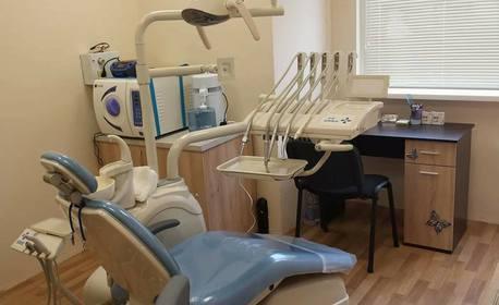 Избелване на зъби с LED лампа, почистване на зъбен камък с ултразвук, полиране и дентален преглед