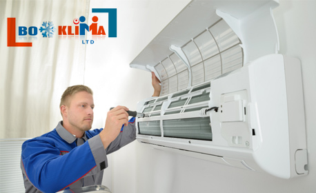 Диагностика на климатик или климатична система в дома или офиса