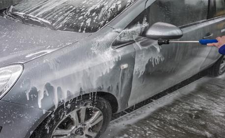 Пране на салон на автомобил, плюс бонус - външно измиване