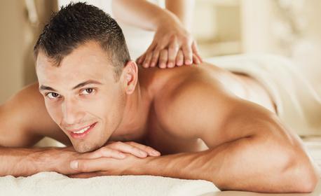 Лечебен масаж на гръб, шия и ръце с магнезиево олио
