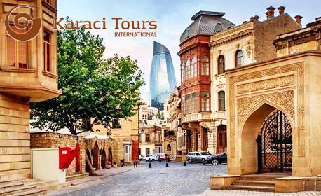 Лятна екскурзия до Азербайджан! 7 нощувки със закуски, плюс 2 вечери и самолетен транспорт,