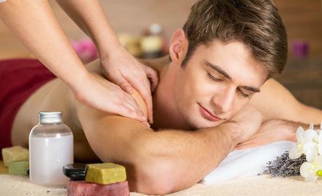 Оздравителен дълбокотъканен масаж на гръб