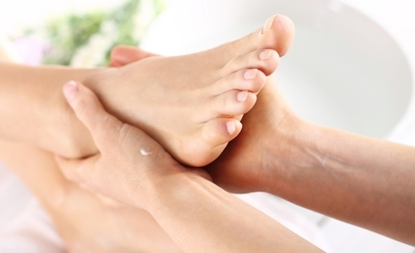 Toчков масаж на гръб, стъпала, длани и глава - за релакс и хармония