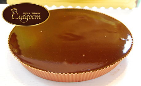 Шоколадова пита от белгийски шоколад в луксозна опаковка