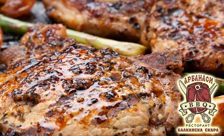 1250гр месно плато на дървени въглища! Телешки и свински кюфтенца, домашна наденица и пилешки крилца