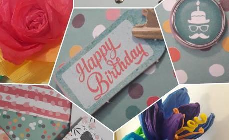 Детски арт рожден ден! 3 часа занимания за до 12 деца над 5г, плюс аниматор и украса