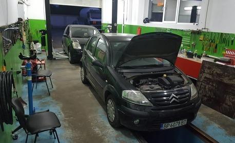 Цялостен преглед и компютърна диагностика на автомобил