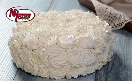 Шоколадова или Плодова мъфинова торта - с 12 парчета