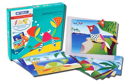Образователна и занимателна магнитна игра за деца