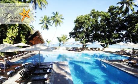 Свети Валентин на Сейшелите! 7 нощувки в Berjaya Beau Vallon Bay Resort & Casino 4*, плюс самолетен транспорт