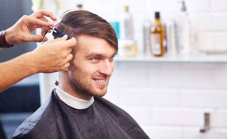 Мъжко подстригване, измиване и стайлинг