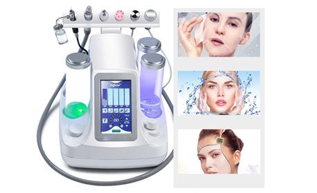 Водно дермабразио на лице, ексфолиране, почистване, хидратация и криотерапия - без или със биолифтинг
