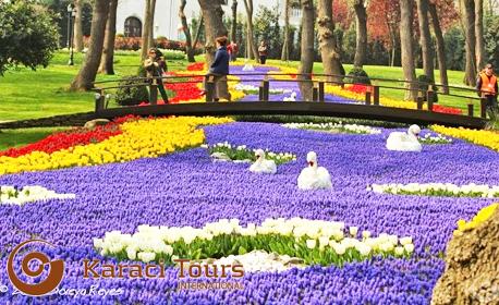 До Истанбул за Фестивала на лалето! 2 нощувки със закуски, плюс транспорт и посещение на Одрин