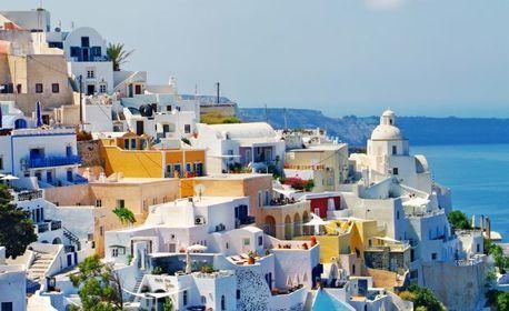 През Юни или Септември до остров Санторини и Атина! 4 нощувки със закуски, плюс транспорт