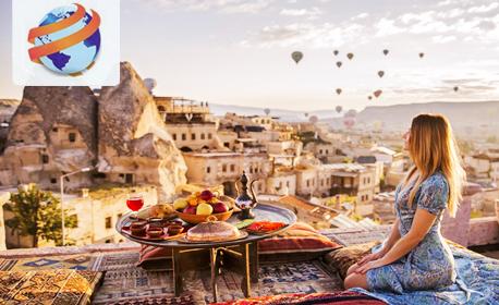 През Май и Юни до Кападокия, Анкара, Истанбул и Соленото езеро! 4 нощувки със закуски и 2 вечери, плюс транспорт