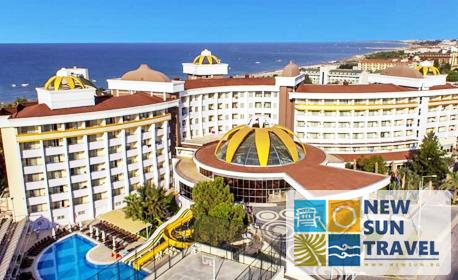 За Великден в Сиде - на 200м от плажа! 7 нощувки на база All Inclusive в Alegria Hotel & SPA Side****