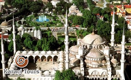 За Фестивала на лалето в Истанбул! 2 нощувки със закуски в хотел 4* с ползване на басейн и сауна, плюс транспорт