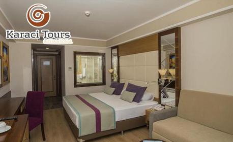 През Май в Сиде, Анталия! 7 нощувки на база All Inclusive в Dream World Aqua Hotel*****, плюс самолетен транспорт