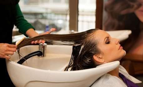 Реконструираща терапия за коса на Brelil в 4 фази, плюс оформяне със сешоар и бонус - подстригване