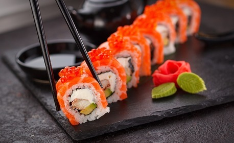 Екзотично хапване за вкъщи! Суши сет с 24 хапки