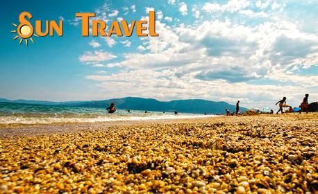 Лятна почивка в Аспровалта! 3 нощувки в хотел Argilos, плюс транспорт и възможност за круиз до Света гора
