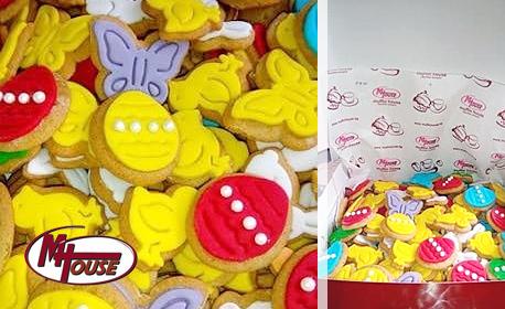 500гр Великденски бисквитки с мед и канела