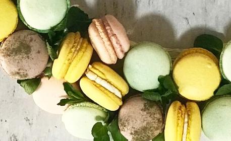 Луксозна кутия с 10, 20 или 30 броя френски макарони