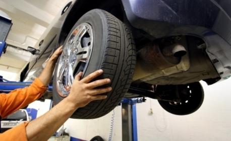 За автомобила! Смяна на 4 броя гуми от 13 до 14 цола - без или със смяна на вентили