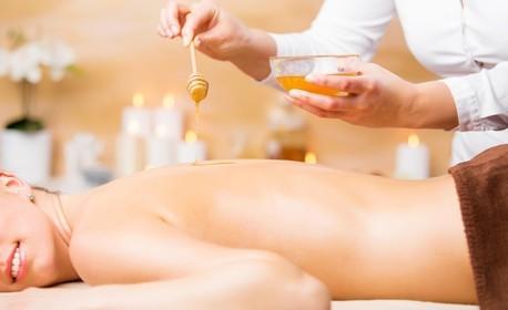 Масаж с мед на цяло тяло