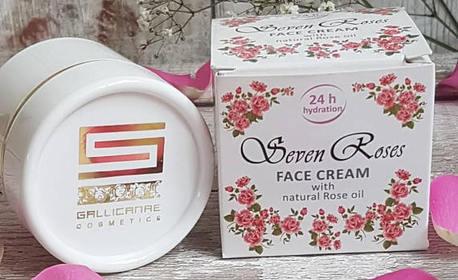Крем за лице - без или със розова вода или околоочен крем
