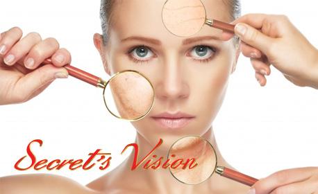 Дермабразио на лице, плюс ултразвуков пилинг и регенерираща терапия