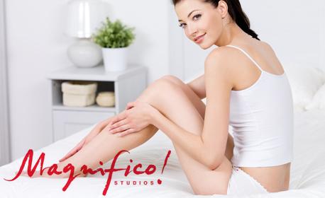 79% отстъпка за 7 процедури Е-Light фотоепилация за жени на пълен интим и подмишници
