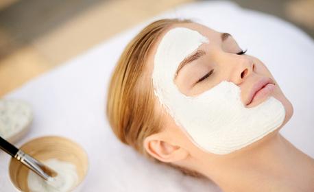 Диамантено микродермабразио на лице, плюс маска с бял шоколад