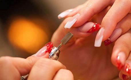 Ноктопластика с удължители, изграждане или акрил, плюс лак или гел лак
