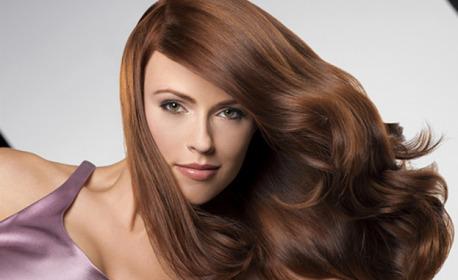 Масажно измиване на коса, плюс нанасяне на арганов еликсир или маска и оформяне със сешоар
