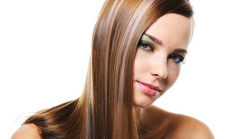 Полиране на коса, плюс възстановяваща и заглаждаща терапия с арганова преса и ампула